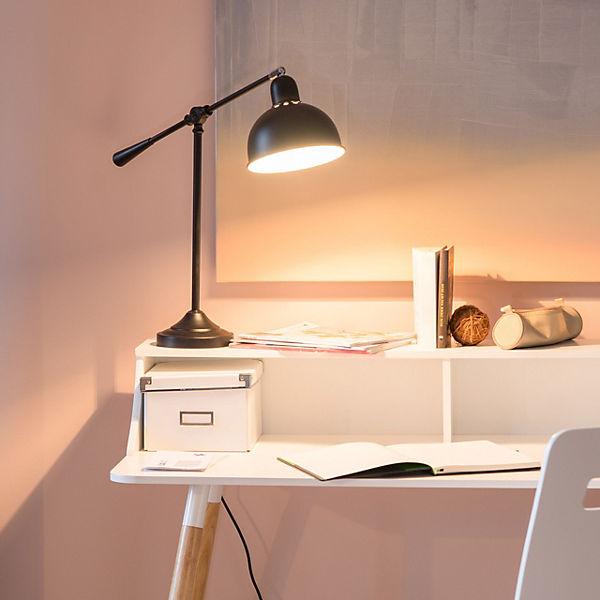 schreibtisch lampe galando mit gelenk schwarz yomonda. Black Bedroom Furniture Sets. Home Design Ideas