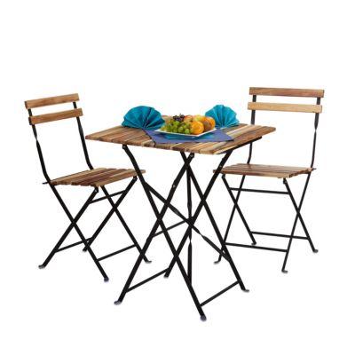 relaxdays 3-tlg. Gartenmöbel Set