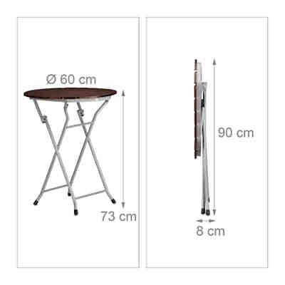 h nge balkontisch ben klappbar halbrund 100x50 cm yomonda. Black Bedroom Furniture Sets. Home Design Ideas