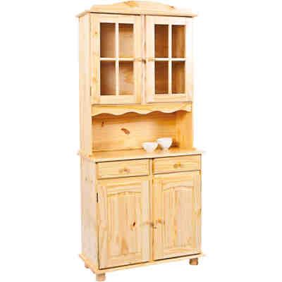 massivholz buffet schrank granny b 130 cm h198 cm. Black Bedroom Furniture Sets. Home Design Ideas