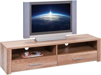 Wildeiche TV-Board ´´Monda´´ 150x40x37 cm braun