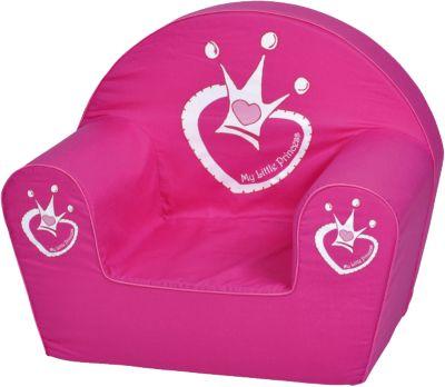 Kindersessel - ´´Drixi´´ my little princess pink | Kinderzimmer > Kindersessel & Kindersofas | Print | Baumwolle | KNORRTOYS.COM