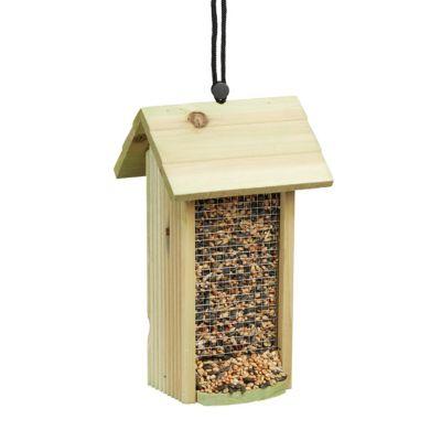Vogel-Futterhaus zum Hängen grün