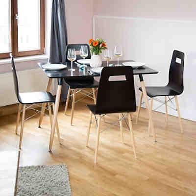 sheesham esstisch boja massivholz 140x80 cm braun yomonda. Black Bedroom Furniture Sets. Home Design Ideas