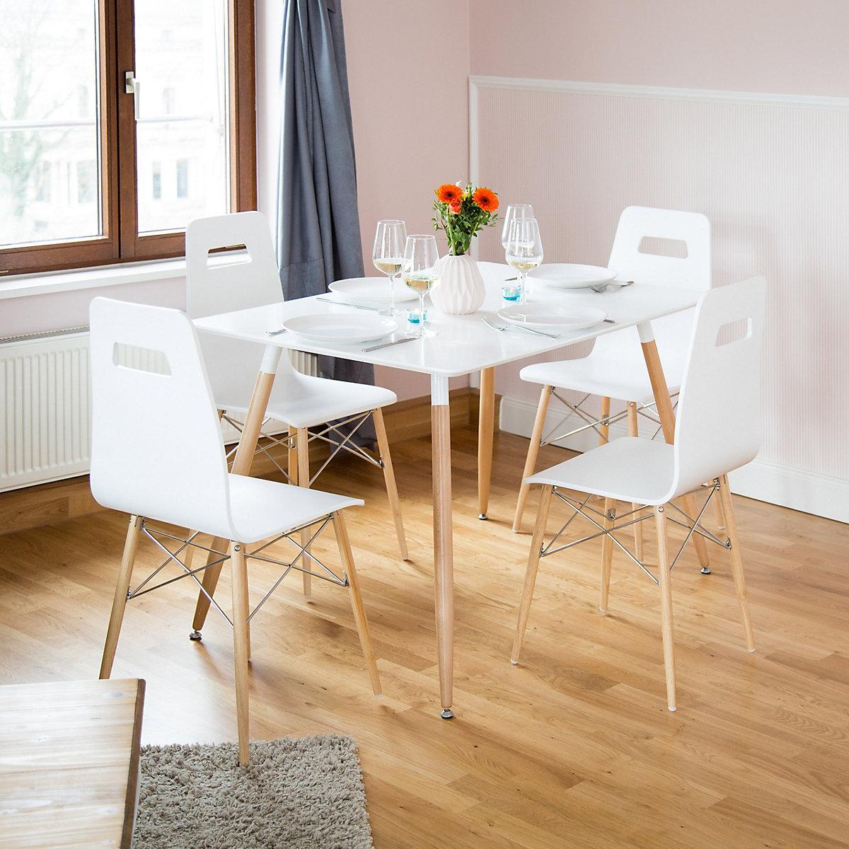 esstisch arvid 120 x 80 cm wei yomonda. Black Bedroom Furniture Sets. Home Design Ideas
