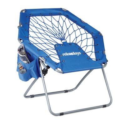 Camping-Stuhl ´´Bungee Webster´´ klappbar blau