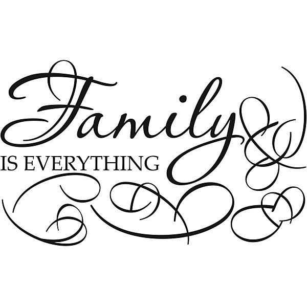 Wandtattoo family mit 5 bilderrahmen schwarz yomonda - Wandtattoo family ...