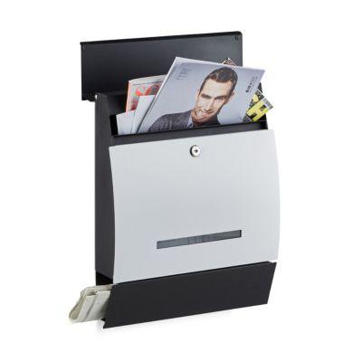 Design Briefkasten ´´Line´´ mit Fach Zeitungen ...