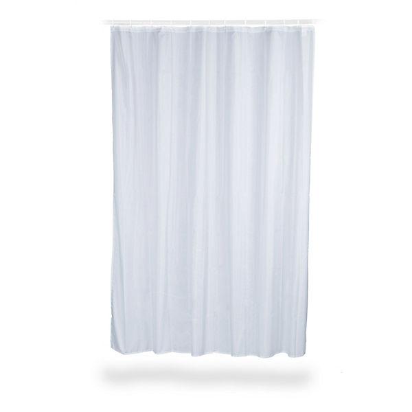 anti schimmel duschvorhang uni 200x180 cm wei yomonda. Black Bedroom Furniture Sets. Home Design Ideas