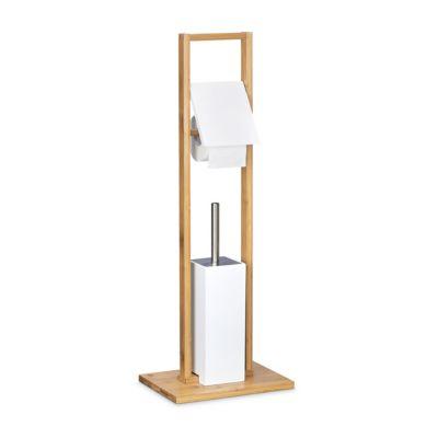 Bambus WC-Garnitur Ständer beige