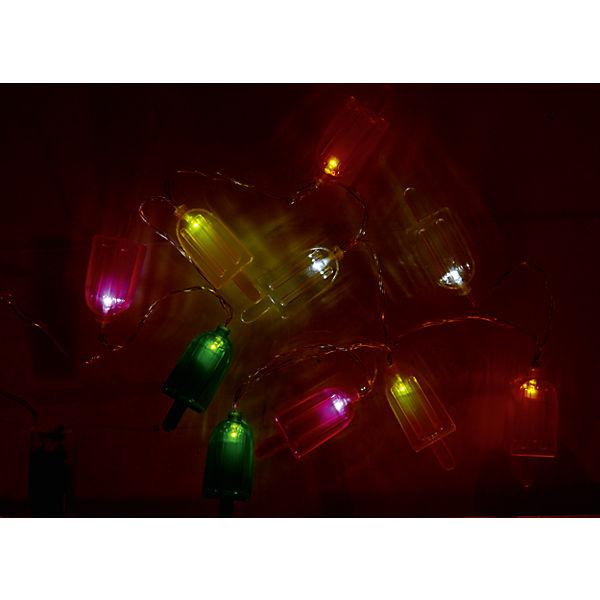 2er set lichterkette eis am stiel je 10 leds l1 65 m mehrfarbig yomonda. Black Bedroom Furniture Sets. Home Design Ideas
