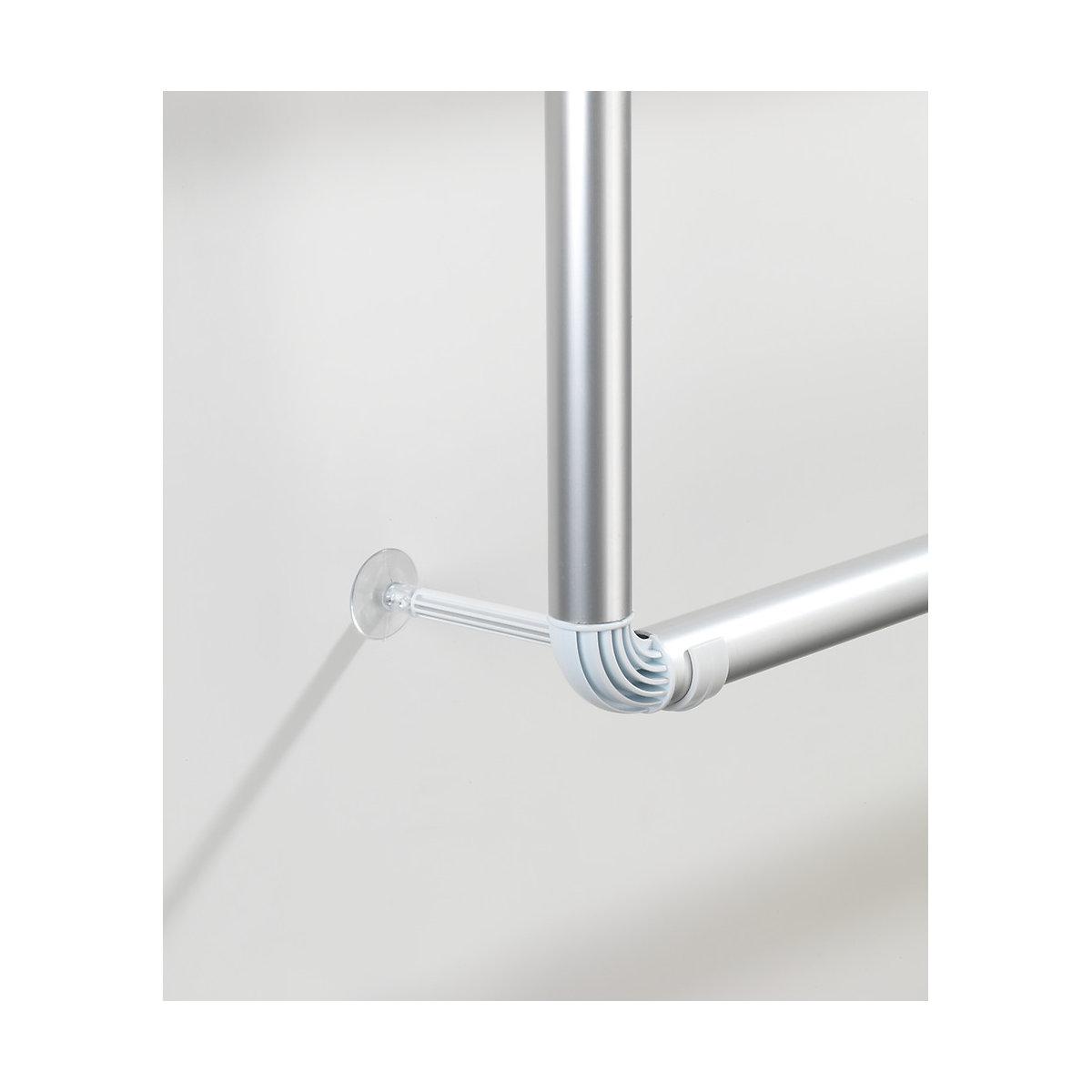 Handtuchhalter für Tür und Duschkabine pact mit 3