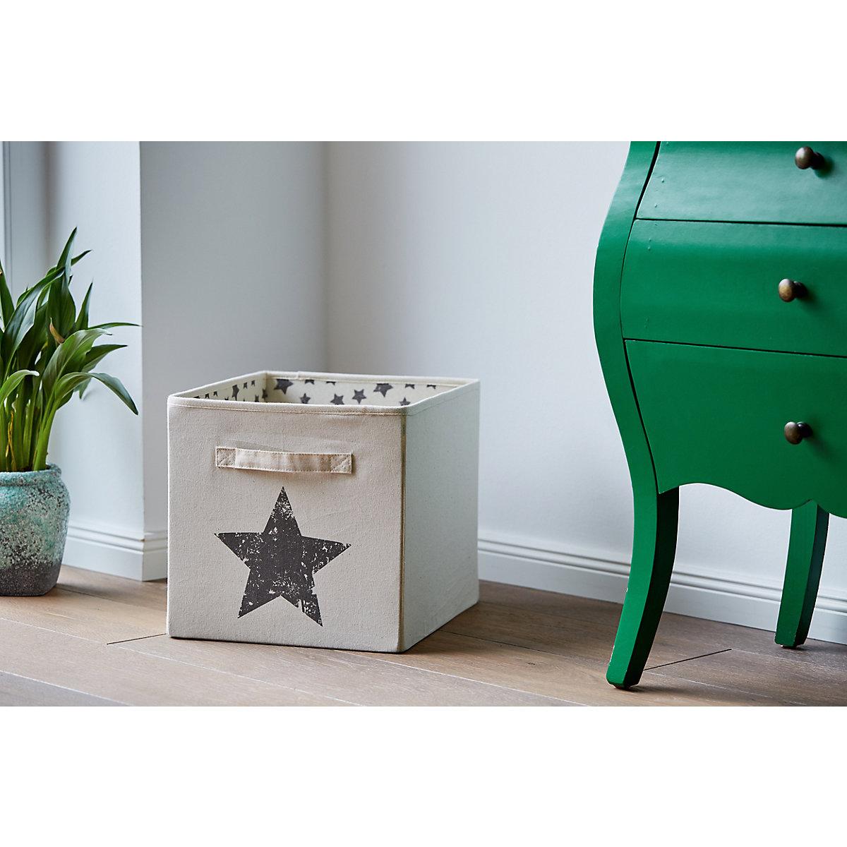 aufbewahrungsbox 32x32 cm wei store it yomonda. Black Bedroom Furniture Sets. Home Design Ideas