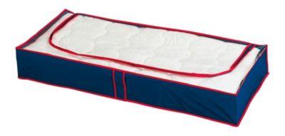 WENKO Unterbettkommode Blau-Rot, 8er Set blau/rot | Schlafzimmer > Matratzen | Wenko