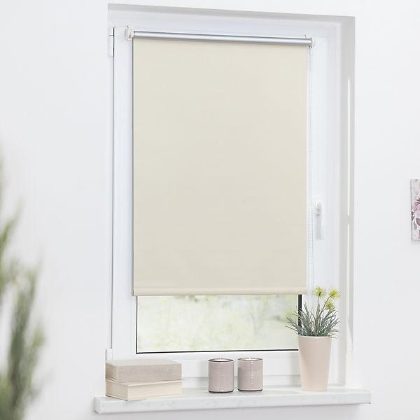 thermo rollo klemmfix ohne bohren verdunkelung creme. Black Bedroom Furniture Sets. Home Design Ideas