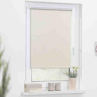 thermo rollo klemmfix ohne bohren verdunkelung creme beige lichtblick yomonda. Black Bedroom Furniture Sets. Home Design Ideas