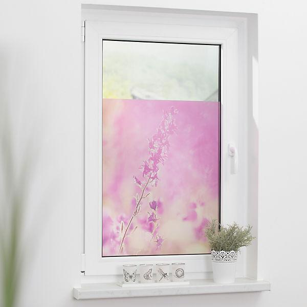 Fensterfolie selbstklebend sichtschutz blickdicht violett lila lichtblick yomonda - Fensterfolie blickdicht ...