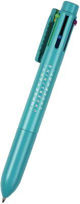6-Farben Multi-Kugelschreiber grün