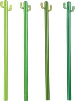 4-er Set Bleistifte ´´Kaktus´´ HB grün