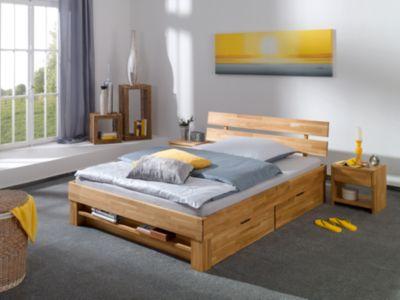 Relita Bettregal JULIA 140 cm breite Betten, Eiche massiv, geölt holzfarben Kinder | Kinderzimmer > Kinderzimmerregale | Eiche - Geölt | Relita