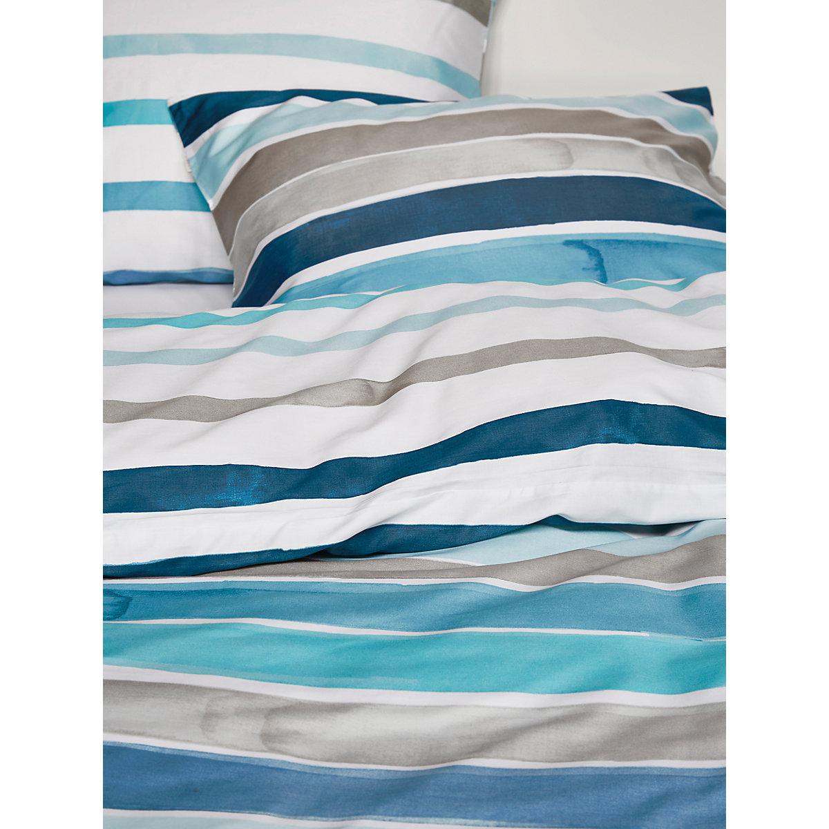 bettw sche iva aus satin blau esprit yomonda. Black Bedroom Furniture Sets. Home Design Ideas