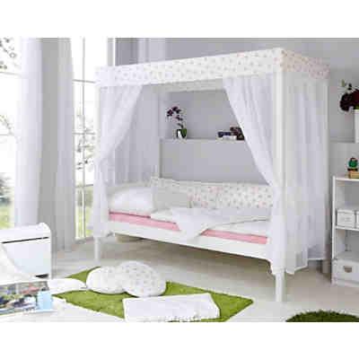 Sofabett Mit Schubkästen Marlies Kiefer Massiv Weiß 90 X 200 Cm