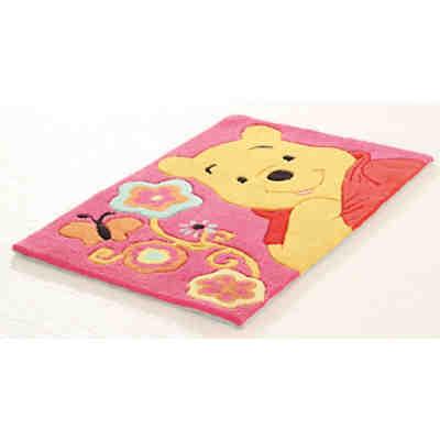 Kinderteppich Winnie Puuh, Schmetterling, 50 x 80 cm, Disney Winnie Puuh