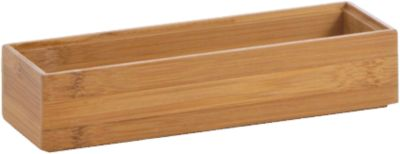 Aufbewahrungs-Kiste ´´Bamboo´´ 23x7,5x5 cm beige