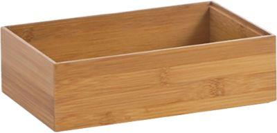 Aufbewahrungs-Kiste ´´Bamboo´´ 23x15x7 cm beige