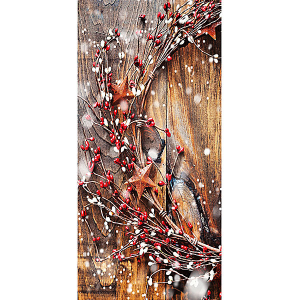 "XL Banner Bild ""Winter Dream"" rollbar, H180 cm"