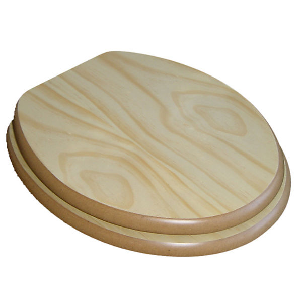 wc sitz asconia mit verchromten scharnieren braun yomonda. Black Bedroom Furniture Sets. Home Design Ideas