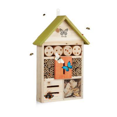 Insektenhotel ´´Butterfly´´ grün