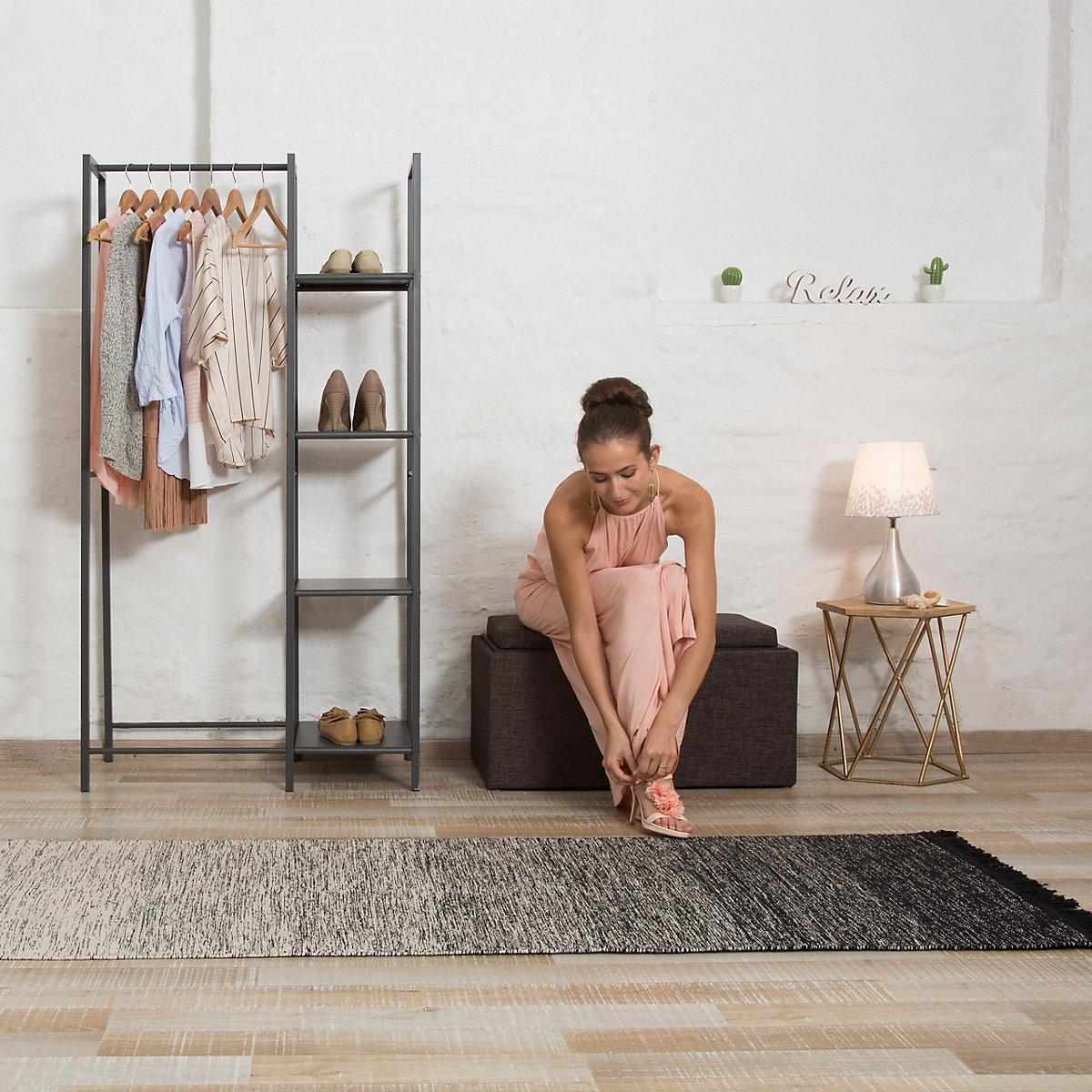 sitztruhe mit stauraum 40x78 cm braun yomonda. Black Bedroom Furniture Sets. Home Design Ideas