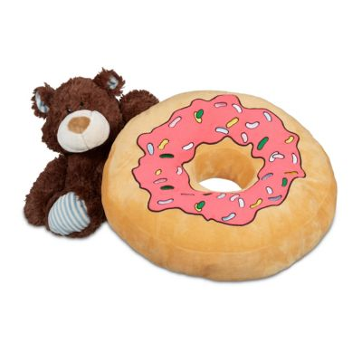 Donut Kissen pink
