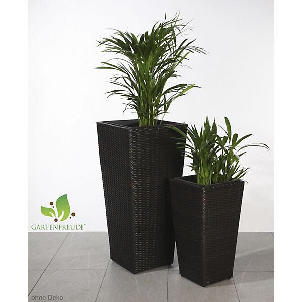 2er-Set Pflanzkübel für Innen und Außen, | yomonda
