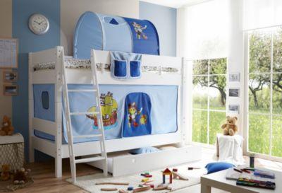 Etagenbett Lupo Ii Weiss : Kinderzimmer lupo und ticaa etagenbett g buche weiß babymarkt