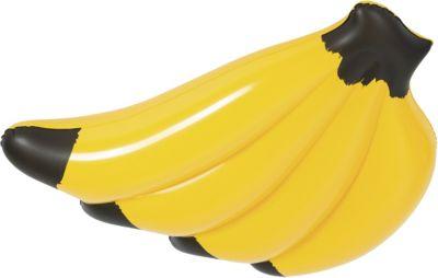 Bestway Banana Float 139 x 129 cm, Luftmatratze in Bananenform gelb | Baumarkt > Camping und Zubehör > Luftmatratzen und Isomatten | Bestway