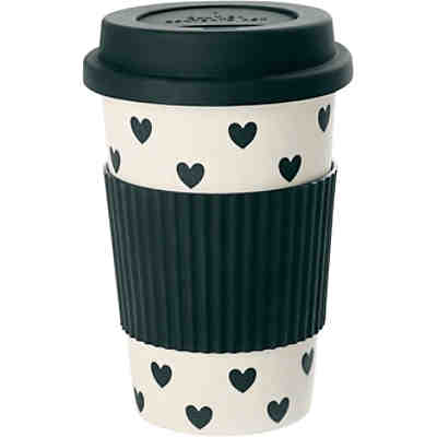"Travel Mug ""Hearts"""
