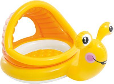 Intex Baby Planschbecken faule Schnecke orange/gelb   Garten > Swimmingpools   Intex