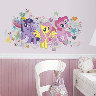 RoomMates Wandsticker My little Pony mehrfarbig   Dekoration > Wandtattoos   Roommates