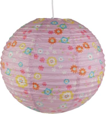 Pendelleuchte Papierballon Bungee Bunny beige