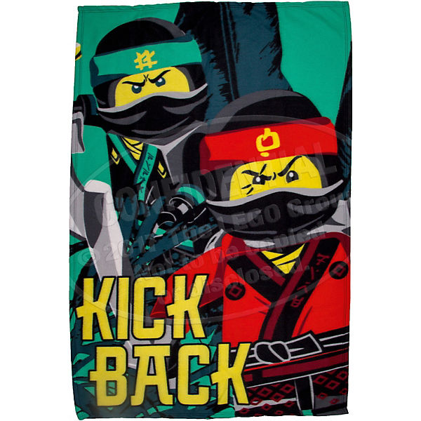 Kuscheldecke LEGO Ninjago Movie, 100x150 cm