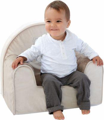 Kindersessel KOALA grau | Kinderzimmer > Kindersessel & Kindersofas | Polyester - Polyurethan | candide