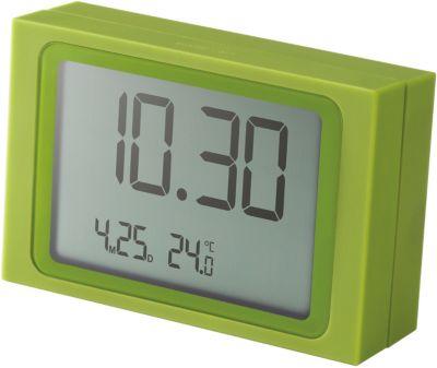 LCD Wecker ´´Slide Clock´´ grün | Dekoration > Uhren > Wecker | Lexon