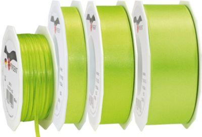 25m Geschenkband 40mm ´´Doppel-Satin´´ grün