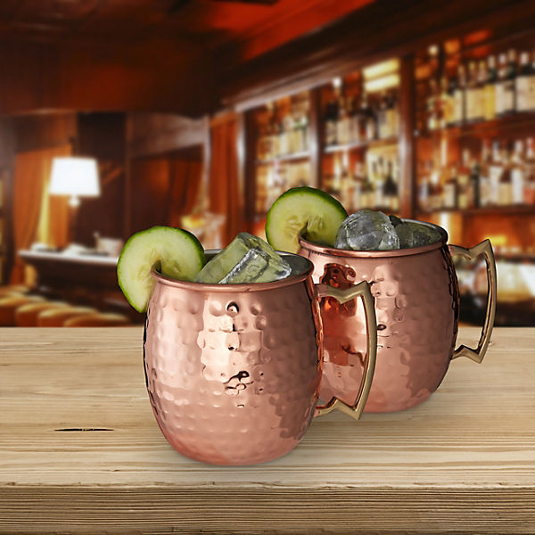 "2er-Set ""Moscow Mule""-Becher"