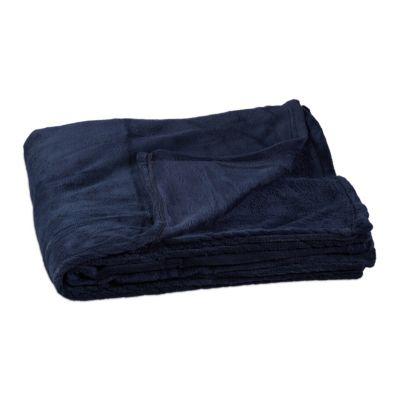 Kuscheldecke ´´Fleece´´, extragroß dunkelblau