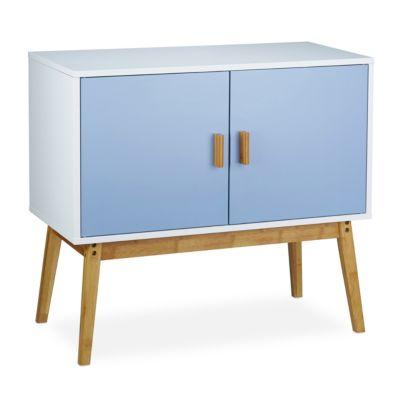 Sideboard ´´Retro´´ blau/weiß
