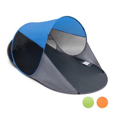 Strandmuschel ´´Pop Up´´ blau