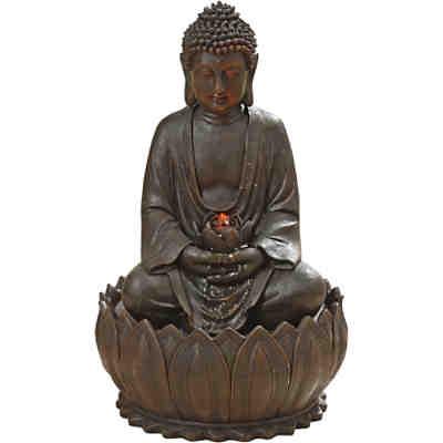 Gartendeko g nstig online kaufen yomonda - Gartenbrunnen buddha ...
